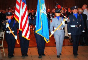 CSFA Hall of Fame Dinner 2012 Honor Guard