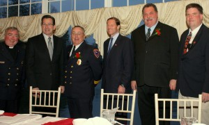 CSFA Officers with Gov. Malloy & Sen. Blumenthal