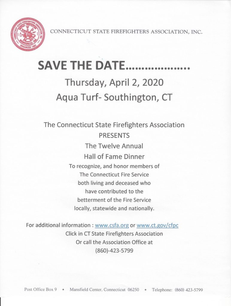 The Connecticut State Firefighters Association